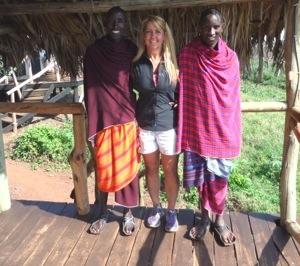 Gina Schreck, Kilimanjaro, Africa, Maasai