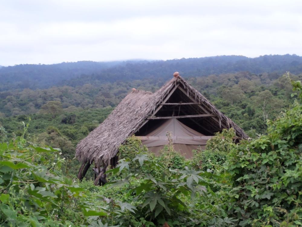 Maasai tent Gina Schreck