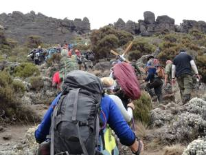 The CROSS on Kilimanjaro