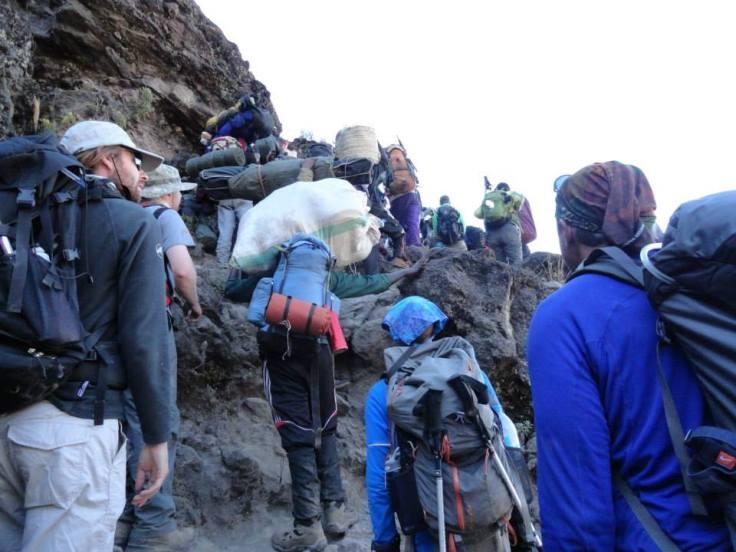 Kilimanjaro Baranco Wall