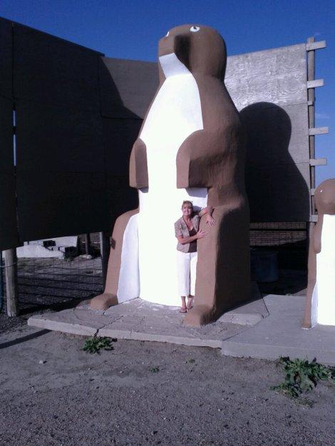 Gina Schreck worlds largest prairie dog